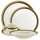 10 Strawberry Street Sahara Porcelain Dinnerware