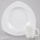CAC Camptown Super White China Dinnerware