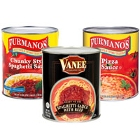 Canned Pizza Sauce and Canned Tomato Sauce