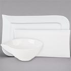 Cardinal Variations White Porcelain Dinnerware