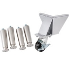 Charbroiler Casters and Leg Kits