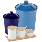 China / Porcelain Food Storage Jars and Ingredient Canisters