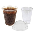 Clear Plastic Cups, PET Heavy Wall