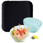 Clear and Tinted Polycarbonate Dinnerware