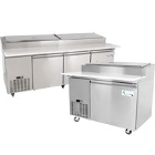Commercial Pizza Preparation Refrigerators
