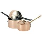 Copper Sauce Pans
