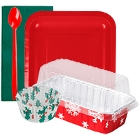 Disposable Christmas Party Supplies