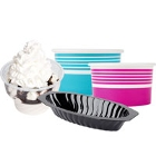 Disposable Ice Cream and Frozen Yogurt Cups