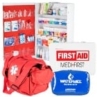 First Aid Kits, First Aid Supplies and Eye Wash Stations