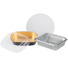 Foil Take-Out Containers & Lids