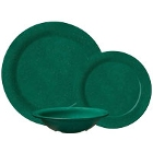 GET Kentucky Green Melamine Dinnerware