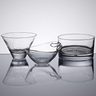 Glass Appetizer and Tasting Servingware
