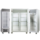 Glass Door Reach-In Refrigerators