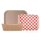 Green, Biodegradable Food Trays