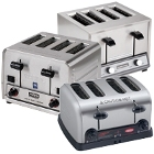Heavy-Duty Commercial Pop-Up Toasters