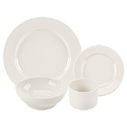 Homer Laughlin Durathin Ivory (American White) China Dinnerware