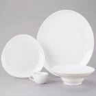 Homer Laughlin Alexa Bright White China Dinnerware
