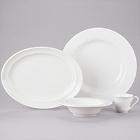 Homer Laughlin Kensington Bright White China Dinnerware