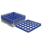 Noble Products 25 Compartment Glass Racks and Extenders
