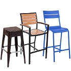 Outdoor Restaurant Bar Stools