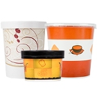 Paper Soup Cups and Bowls
