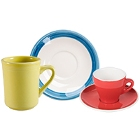 Porcelain Cups, Mugs, and Saucers
