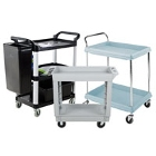 Plastic Bussing Carts and Transport Carts