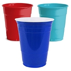 Plastic Cups, Solid Color