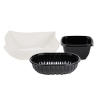 Plastic Take-Out Deli / Catering Bowls and Lids