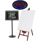 Signs & Easels