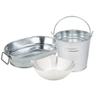 Stainless Steel Serving and Display Bowls