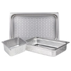 Steam Table Food Pans - Perforated Stainless Steel