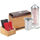 Cup Lid Straw And Portion Cup Organizers And Dispensers