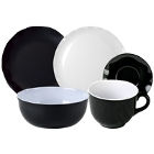 Thunder Group Black Pearl Melamine Dinnerware