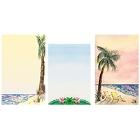 Tropical Style Menu Paper