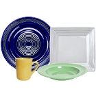 Tuxton Concentrix Colorful China Dinnerware