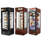 Vertical Bakery Display Cases and Revolving Bakery Display Cases