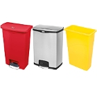 Wall Hugger Trash Cans