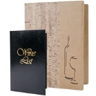 Wine List Covers and Accessories