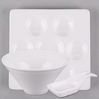 World Tableware Chef's Selection II Bright White Porcelain Dinnerware