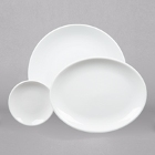 World Tableware Porcelana Bright White Porcelain Dinnerware