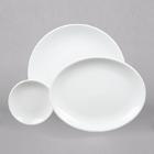 World Tableware Porcelana Bright White Porcelain Dinnerware