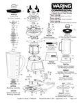 7011HB, 7011HG, 7011HS Parts Diagram