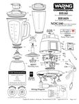 BB180, BB180S, NDG180 Parts Diagram