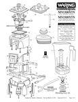 MX1300XTX, MX1500XTX Parts Diagram