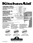 KitchenAid KGM Manual
