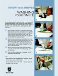 Knife Washing Guide
