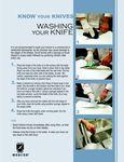 Knife Washing Guide