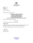 Kosher Certification Letter