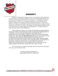 Buckeye Fire Equipment's Warranty Information